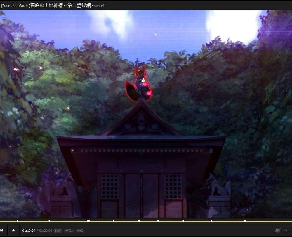 【3D动画/原画】裏庭の土地神様——三集整合